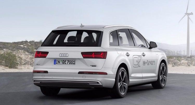 Audi Q7 e-tron quattro, precios del coche con mas autonomía electrica