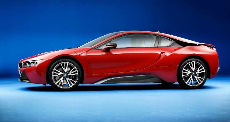 Coches Hibridos BMW i8 Protonic Red Edition