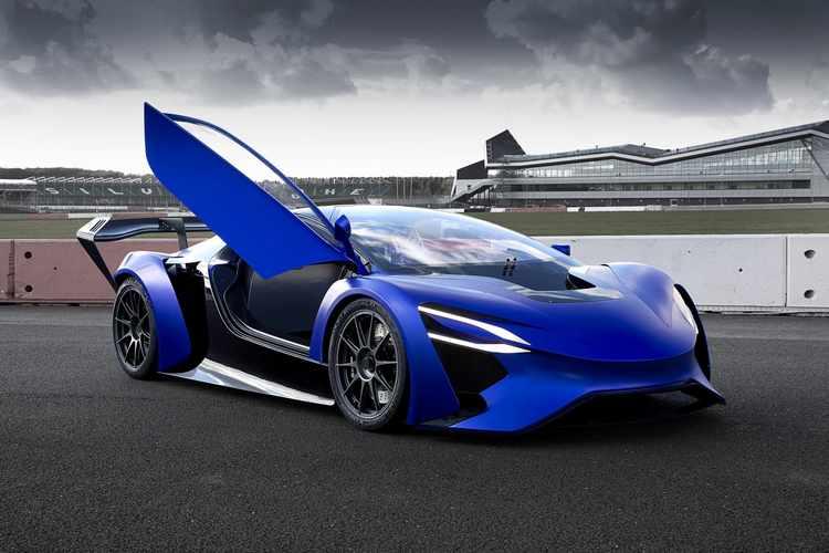 Techrules GT96 y AT96 TREV - coches electricos deportivos