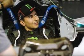 Jorge Lorenzo prueba el F1 de Mercedes – VIDEO