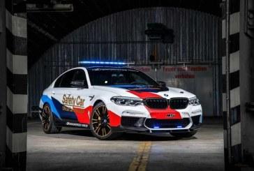 El nuevo BMW M5 MotoGP Safety Car 2018 debutará en el ValenciaGP