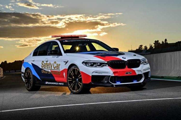 BMW M5 MotoGP Safety Car 2018 – 20 años en el Mundial de MotoGP