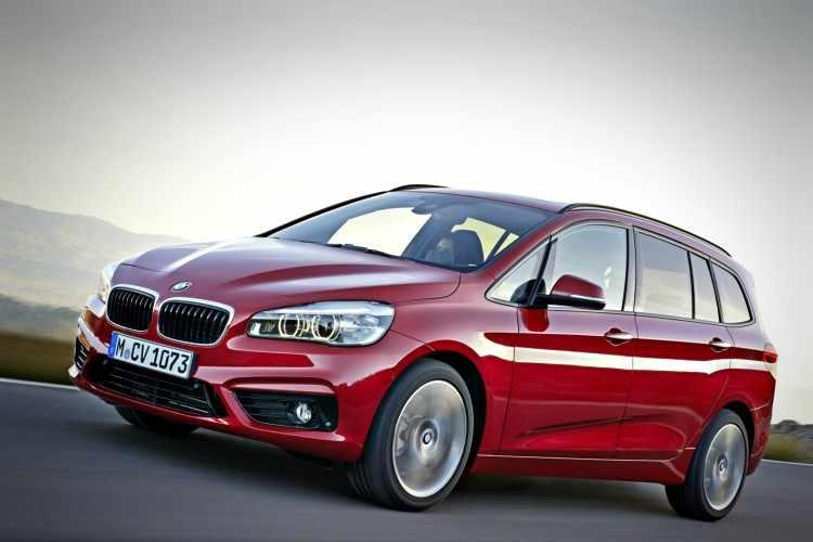 BMW Serie 2 Gran Tourer dimensiones