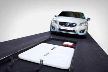 Sistema de carga inalambrica para coches electricos de Volvo
