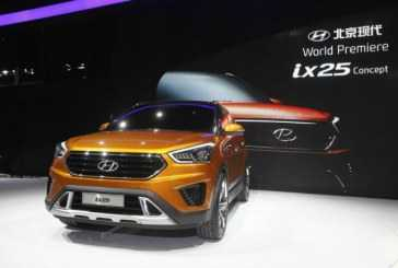 Hyundai ix25 Concept Model presentado en China