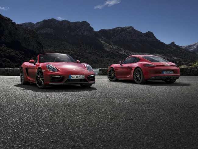 Porsche AG celebra el estreno mundial del Boxster GTS y del Cayman GTS