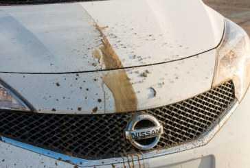 Nissan desarrolla el primer prototipo de coche auto-limpiable