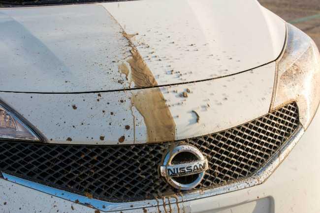 prototipo de coche auto-limpiable