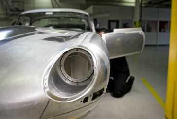 Jaguar recupera el exclusivo E-Type Lightweight