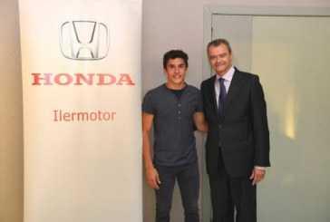 Marc Márquez inaugura un concesionario Honda