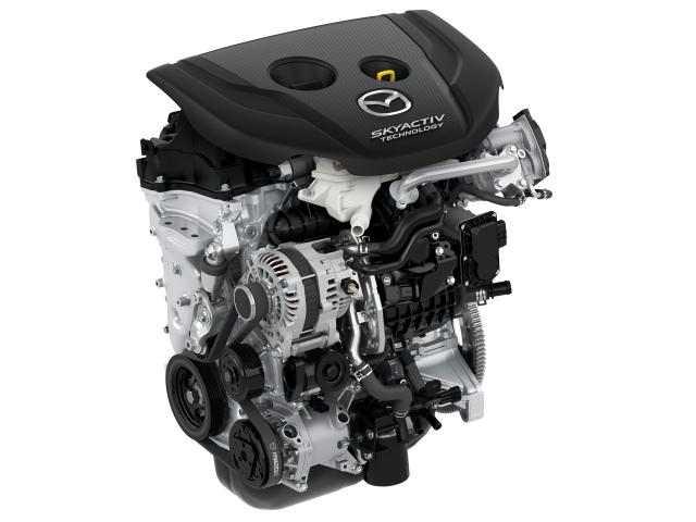 motor 1.5 l. SKYACTIV-D