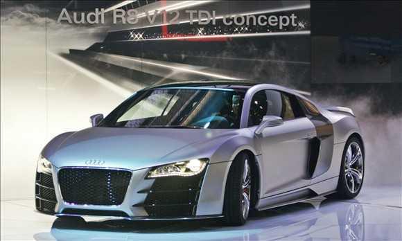 Audi R8 V12 concept