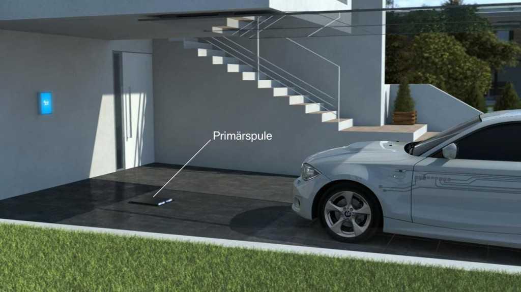 BMW sigue desarrollando sistemas de carga por inducción para eléctricos e híbridos