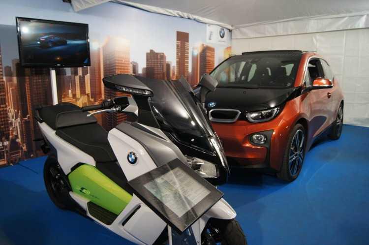 BMW i ha estado presente en el Salón de Vehículos Eléctricos, Expoelectric
