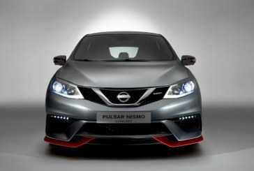 Debut mundial del Nissan Pulsar NISMO Concept en el Salón de París 2014