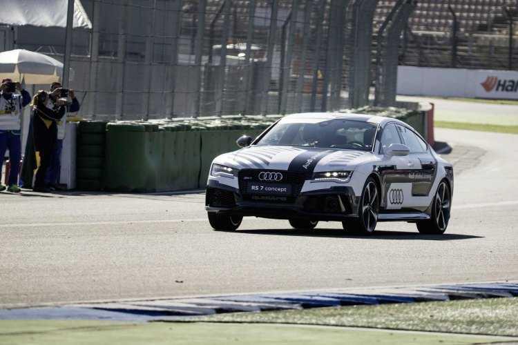 El Audi RS 7 piloted driving concept cumple su misión