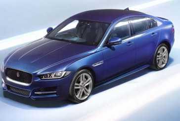 Nuevo Jaguar XE 2015 presentando el Paris