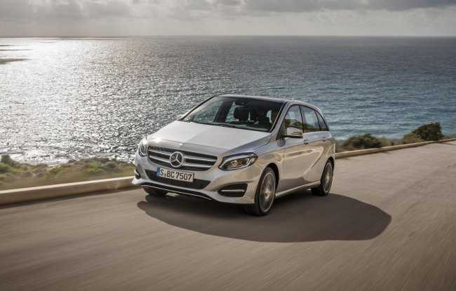 Mercedes Benz B 200 Natural gas Drive
