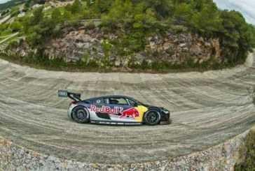 Carlos Sainz y Miguel Molina con Red Bull en el Autódromo de Terramar