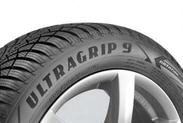 El neumático Goodyear UltraGrip 9 ya está disponible