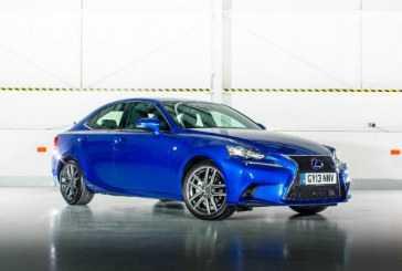 Lexus actualiza su berlina híbrida, el Lexus IS 300h