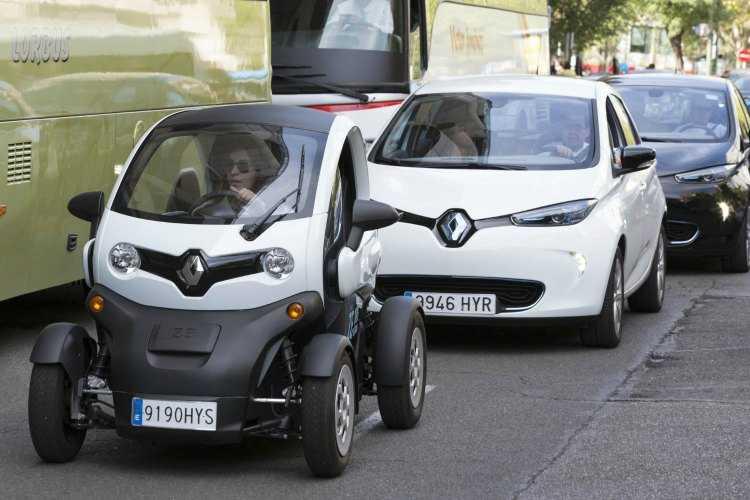 Renault, un líder de coches eléctricos en el país