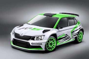 Skoda presenta el Skoda Fabia R 5 Concept Car en el Salón de Essen