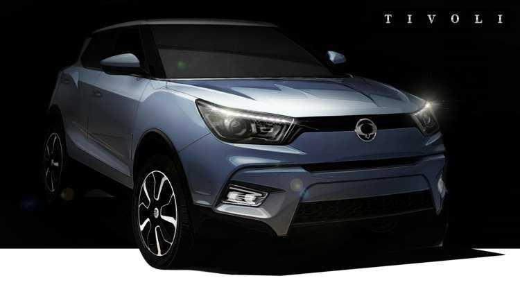 SsangYong confirma que su nuevo SUV del segmento B se llamará SsangYong Tivoli
