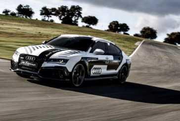 El Audi RS7 piloted driving concept mantiene el ritmo en el Circuito ASCARI