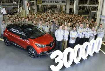 La factoría de Carrocería Montaje de Valladolid lleva fabricados 300.000 Renault Captur