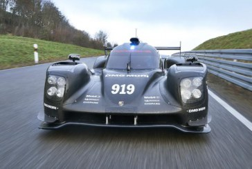 Porsche 919 Hybrid, ya rueda en circuito