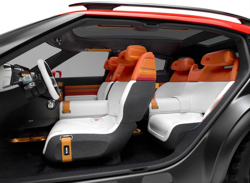 Citroen Aircross interior