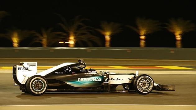 Hamilton en Bahrein