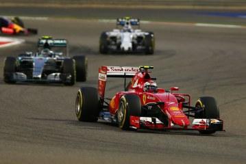 Raikkonen sube al podio del GP de Bahrein