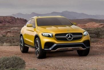 Mercedes GLC Coupé, un concept que une el SUV con el Coupe