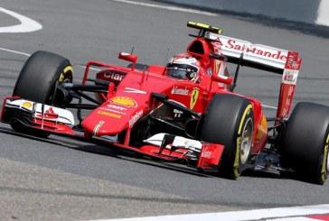 Raikkonen por delante de Vettel en los libres de Bahrein.
