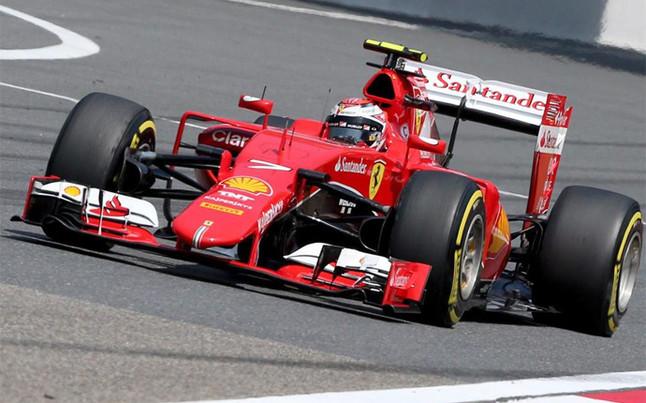 Raikkonen en el primer libre de Bahrein