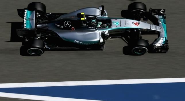 Nico Rosberg en Montmeló