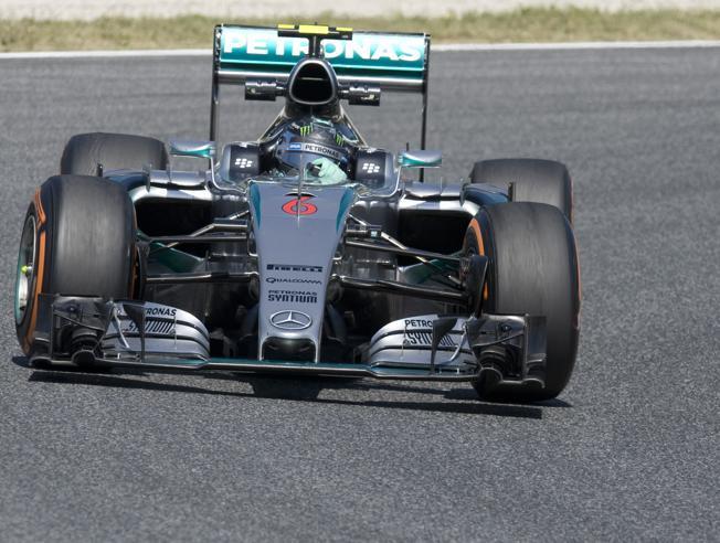 Nico Rosberg en los libres 1