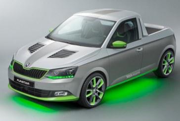 Skoda FUNstar, un concept pick-up con aspecto atrevido