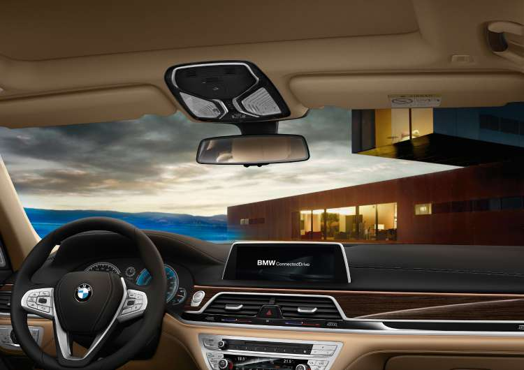 Interior del BMW Serie 7 PHEV
