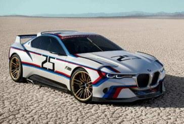 BMW 3.0 CSL Hommage R, homenaje a la competición