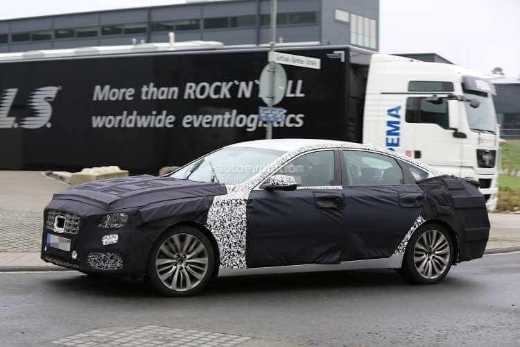 Fotos espia del nuevo Hyundai Genesis