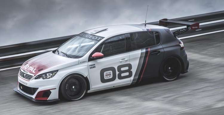 Peugeot 308 Racing Cup, un coche para los clientes mas exigentes
