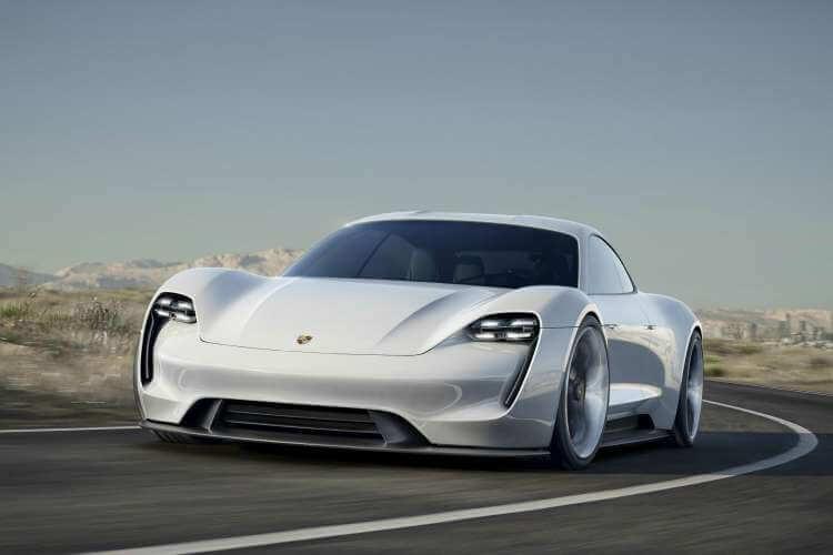 Coches electricos deportivos. Nuevo Porsche Mission E