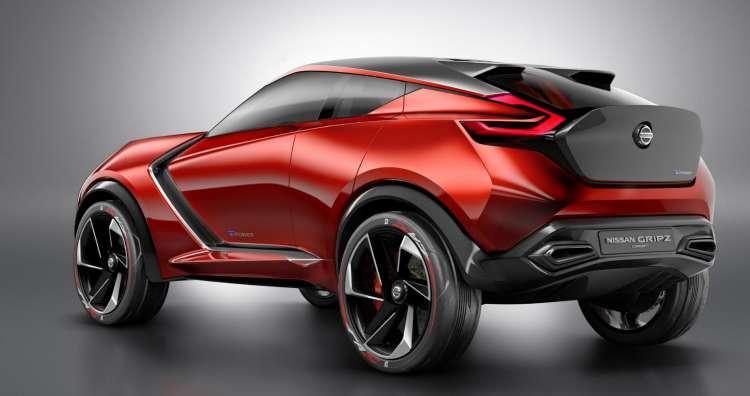Nissan Gripz Concept,  un pequeño crossover con diseño radical