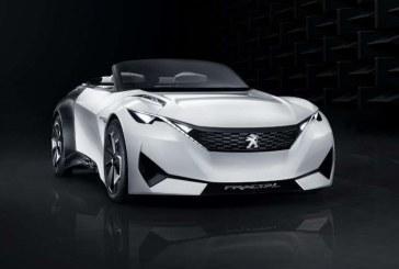 Peugeot Fractal, un concept car cupé electrico