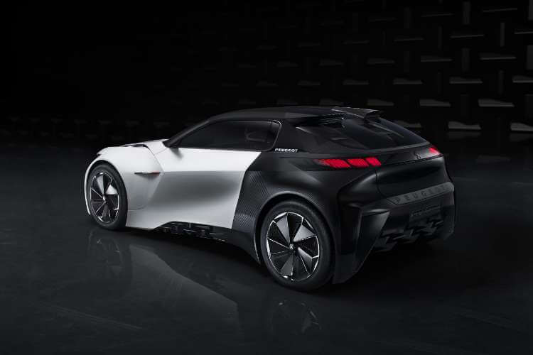 Peugeot Fractal trasera L