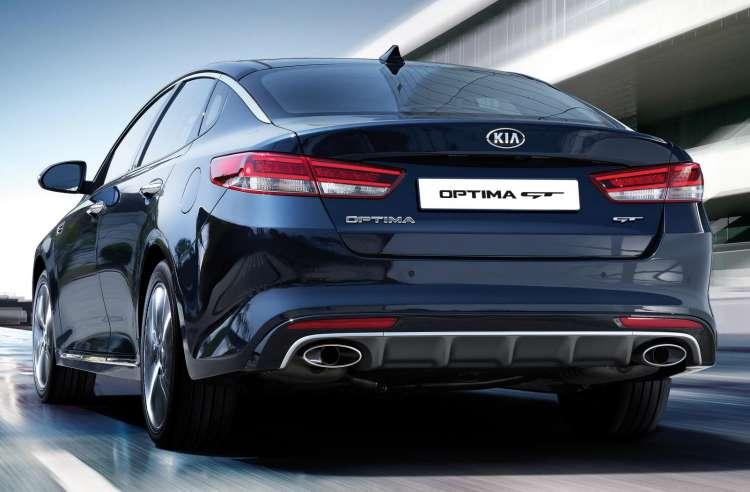 Kia Optima GT, un sedan para los que buscan una conducción deportiva