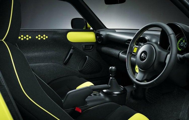 Toyota S-FR interior
